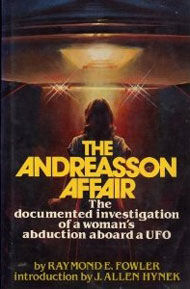 THE ANDREASSON AFFAIR -  book cover